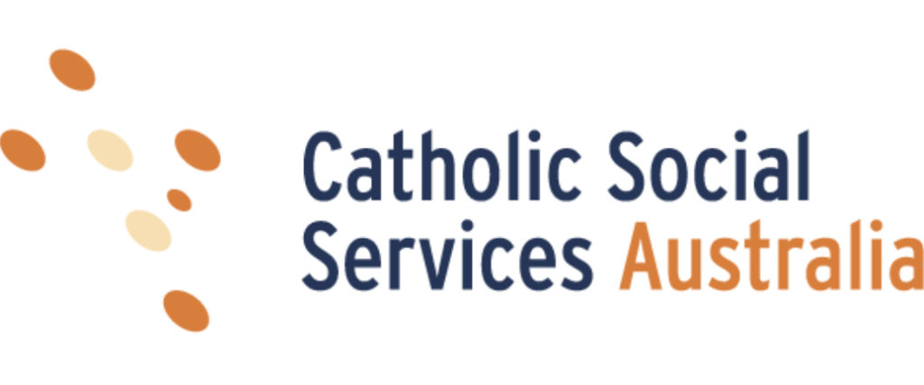 Logo for Catholic Social Services Australia