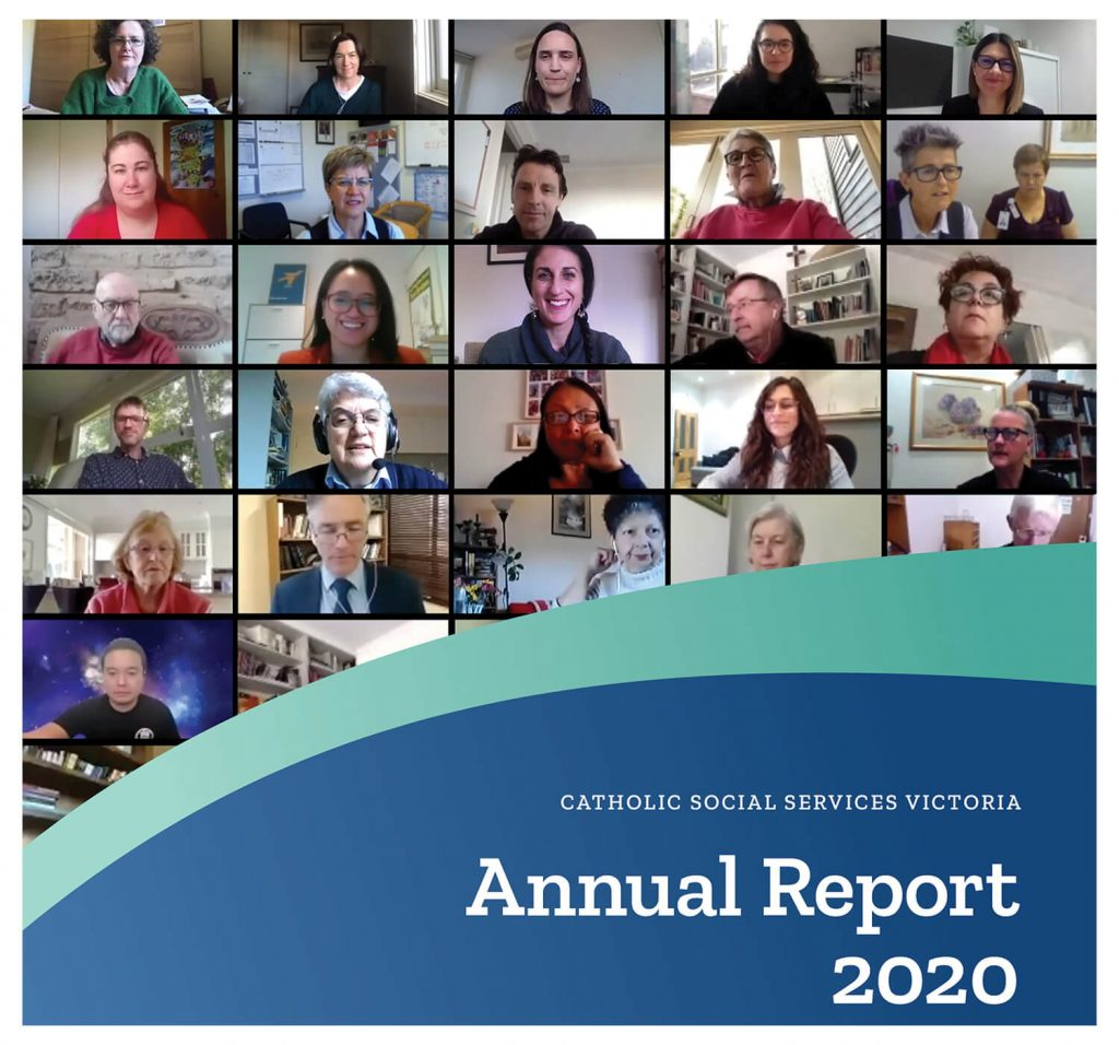 Front cover of CSSV 2020 Annual Report Square
