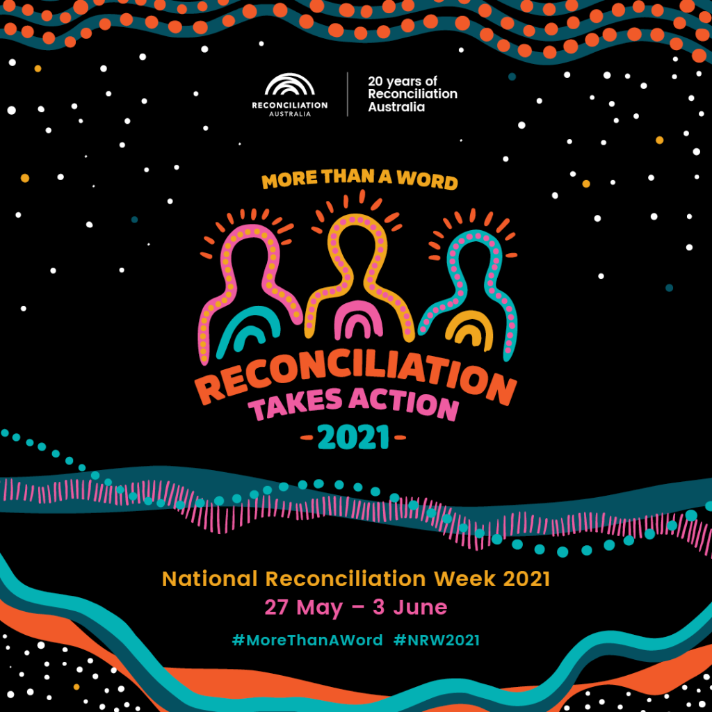 Poster for Reconciliation Week 2021