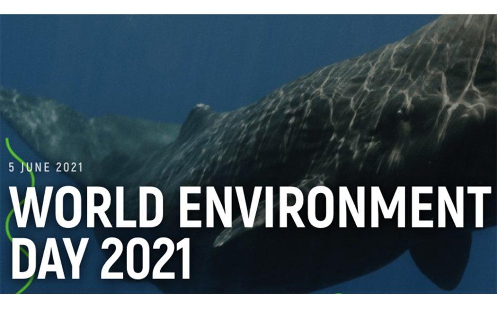 World Environment Day 2021 logo