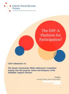 Front cover of CSSV submission