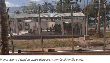 Manus Island detention centre by Refugee Action Coalition