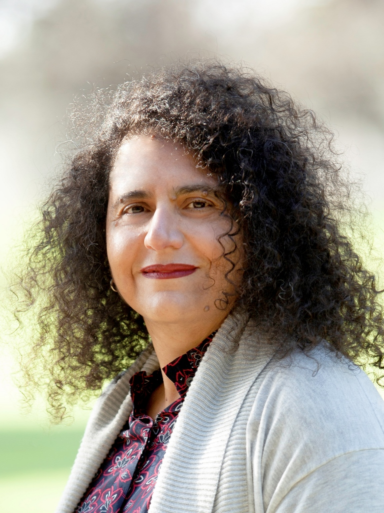 Portrait of woman Tania Farher