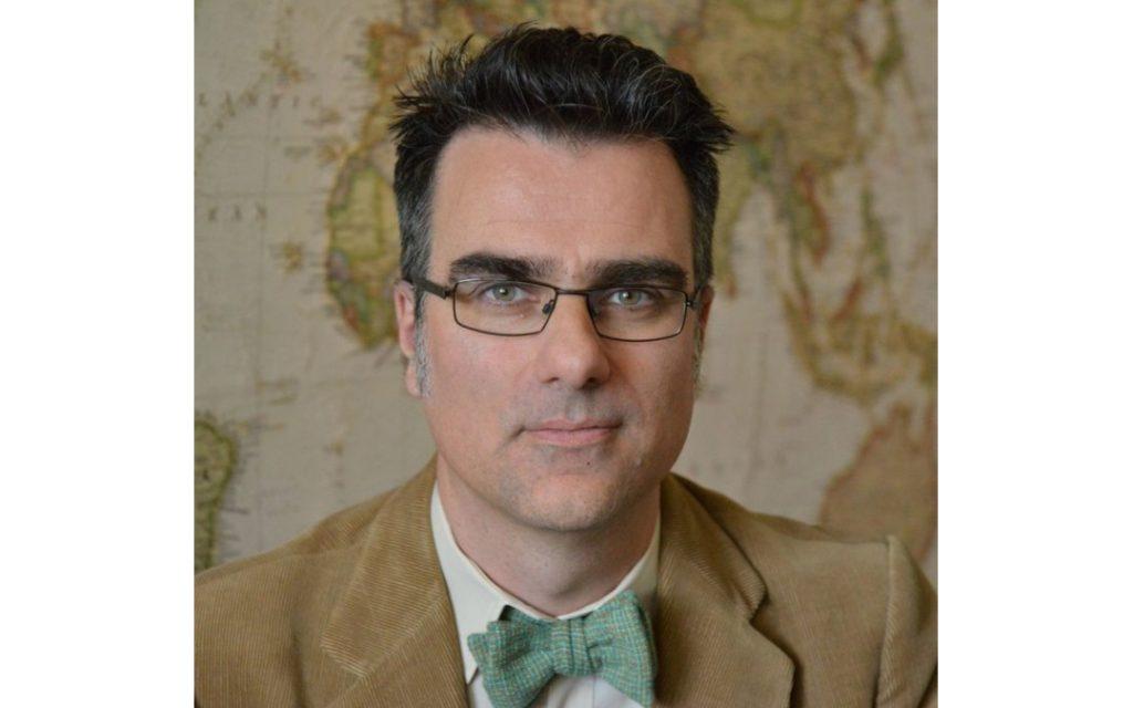 Portrait of man Antony McMullen
